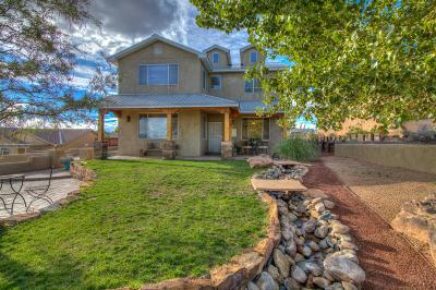 Rio Rancho Single Family Home For Sale: 825 Acapulco Road NE