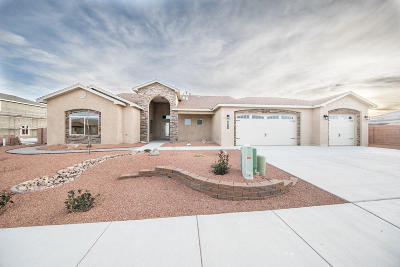 Los Lunas Single Family Home For Sale: 2511 Sunset View Street SW