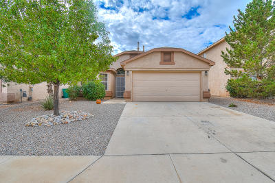 Rio Rancho Single Family Home For Sale: 556 Peaceful Meadows Drive NE