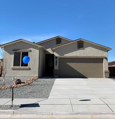 Rio Rancho Single Family Home For Sale: 1169 Fascination Street NE