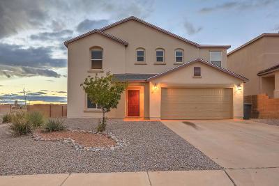 Rio Rancho Single Family Home For Sale: 5521 Gladstone Drive NE