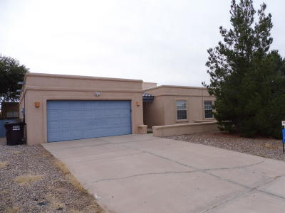 Valencia County Single Family Home For Sale: 1710 Jack Nicklaus Drive