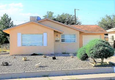 Albuquerque Single Family Home For Sale: 1001 Westerfeld Drive NE