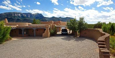 Bernalillo, Placitas Single Family Home For Sale: 15 Tierra Madre Road