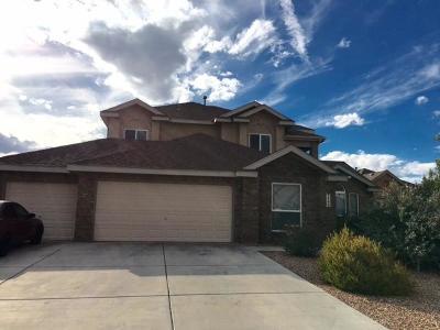 Rio Rancho Single Family Home For Sale: 1509 Corte Castellana SE