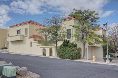 Albuquerque Attached For Sale: 434 Pinon Creek Road SE