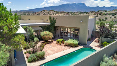 Placitas Single Family Home For Sale: 3 Cloud View Court