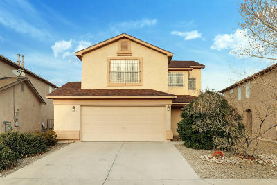 Albuquerque Single Family Home For Sale: 2708 Blue Sky Street SW