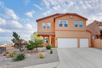 rio rancho Single Family Home For Sale: 5526 Roosevelt Court NE