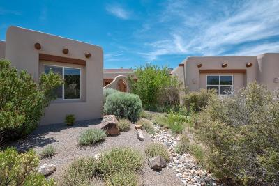 Bernalillo, Placitas Single Family Home For Sale: 2 Cerrito Rojo Court