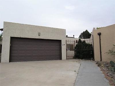 Valencia County Attached For Sale: 114 Vista Del Sol Drive