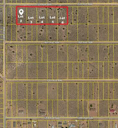 Rio Rancho NM Residential Lots & Land For Sale: $17,000