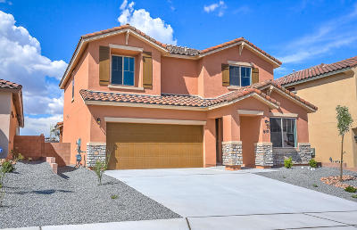 Albuquerque Single Family Home For Sale: 8812 Monsoon Road NW