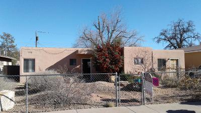 Albuquerque Single Family Home For Sale: 2918 Adams Street NE