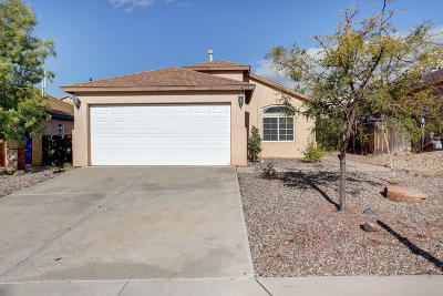 Rio Rancho Single Family Home For Sale: 4753 Kelly Way NE