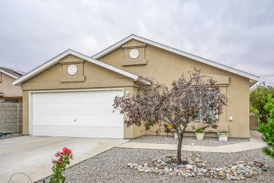 Albuquerque Single Family Home For Sale: 1728 Waters Drive SW