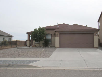 Rio Rancho Single Family Home For Sale: 6628 Shiprock Drive NE