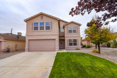 Rio Rancho Single Family Home For Sale: 640 Valley Meadows Drive NE