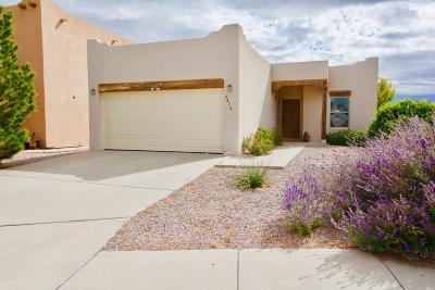 Albuquerque Single Family Home For Sale: 8416 Blush Road NW