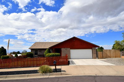 Albuquerque Single Family Home For Sale: 14317 Bauer Road NE