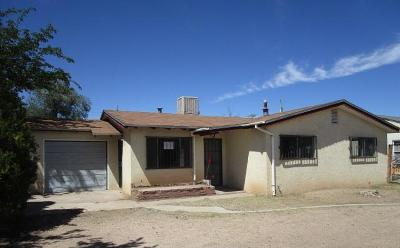 Albuquerque Single Family Home For Sale: 5019 San Luis Place NW