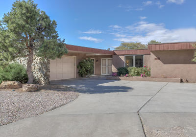 Albuquerque Single Family Home For Sale: 7523 La Madera Road