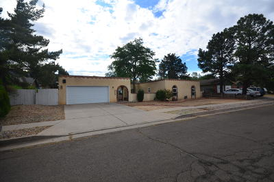 Albuquerque Single Family Home For Sale: 1606 Figueroa Drive NE