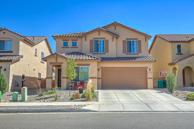 rio rancho Single Family Home For Sale: 3229 Llano Vista Loop NE