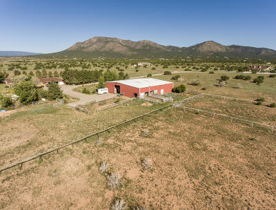 Santa Fe County Farm & Ranch For Sale: 61 A Moonbeam Ranch Road # A