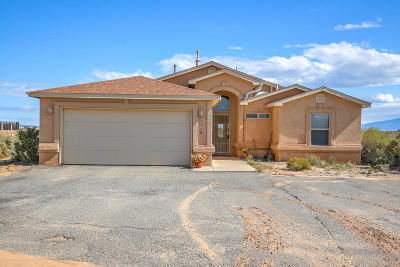 Rio Rancho Single Family Home For Sale: 1118 Rock Road NE