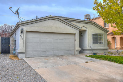 Albuquerque Single Family Home For Sale: 2001 Sea Foam Street NW
