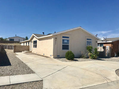 Albuquerque Single Family Home For Sale: 4111 Ciguena Street SW