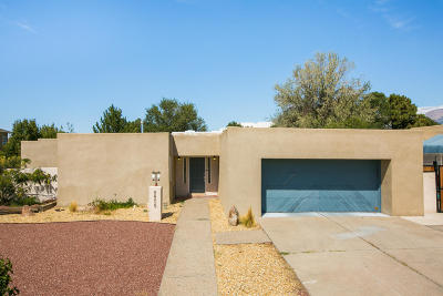 Albuquerque Single Family Home For Sale: 8805 Spain Road NE