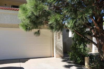 Albuquerque Attached For Sale: 6313 Dorado Beach NE