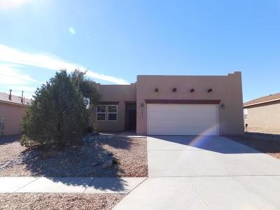 Los Lunas Single Family Home For Sale: 3421 Sun Mesa Street SW