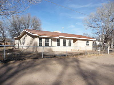 Valencia County Single Family Home For Sale: 10 Sandhill Lane