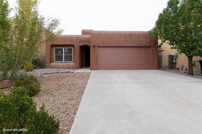 Albuquerque Single Family Home For Sale: 6719 Boca Negra Place NW