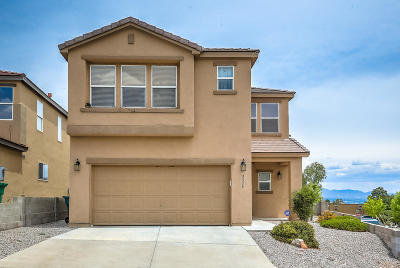 Rio Rancho Single Family Home For Sale: 3326 Marino Drive