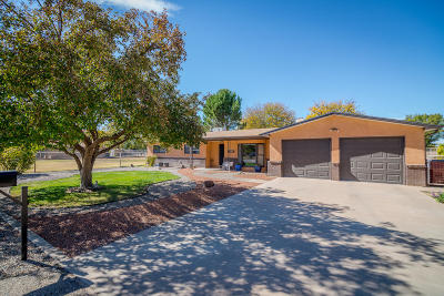 Valencia County Single Family Home For Sale: 135 Ranchitos Road