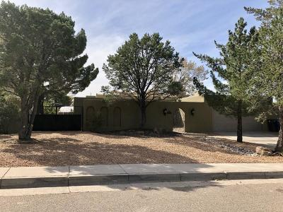 Albuquerque NM Single Family Home For Sale: $409,000