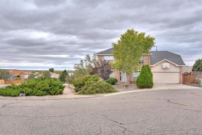 Valencia County Single Family Home For Sale: 43 Marigold Boulevard