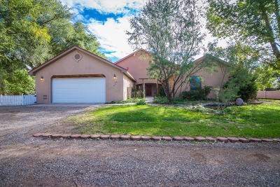 Los Lunas Single Family Home For Sale: 5357 Malpais Lane