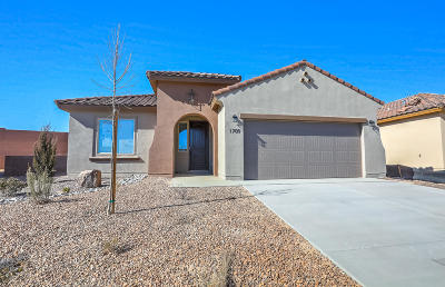 Mirehaven Single Family Home For Sale: 1709 Tent Rocks Drive NW