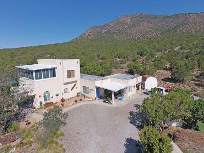 Santa Fe County Single Family Home For Sale: 93 South Mountain Road