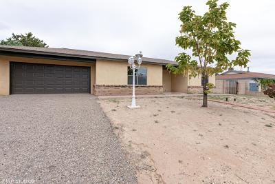 Sandoval County Single Family Home For Sale: 860 Navajo Lane SE