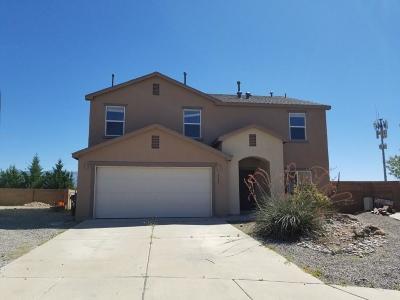 Rio Rancho Single Family Home For Sale: 6644 Shiprock Court NE