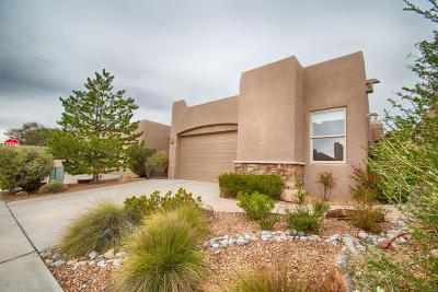 Single Family Home For Sale: 8819 Desert Finch Lane NE