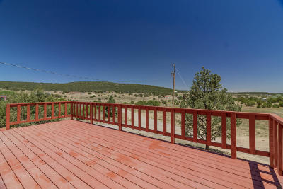 Tijeras, Cedar Crest, Sandia Park, Edgewood, Moriarty, Stanley Single Family Home For Sale: 15 Romance Lane