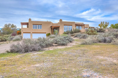Sandoval County Single Family Home For Sale: 61 Tamarisk Trail