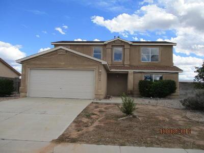 Rio Rancho Single Family Home For Sale: 4540 Dearborn Hills Drive NE